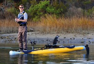 Fishing kayak stability