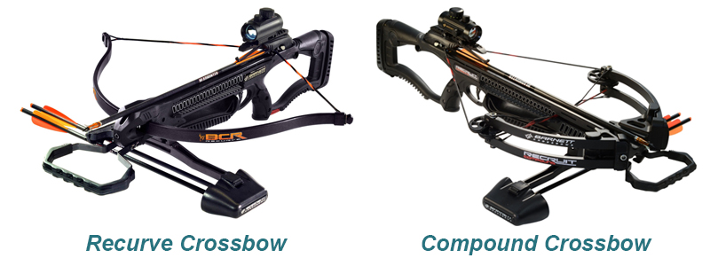 Recurve-Crossbow-vs-Compound-Crossbow