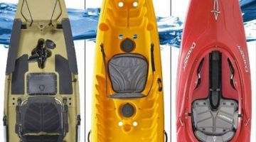 Types of Kayaks - What is the Difference