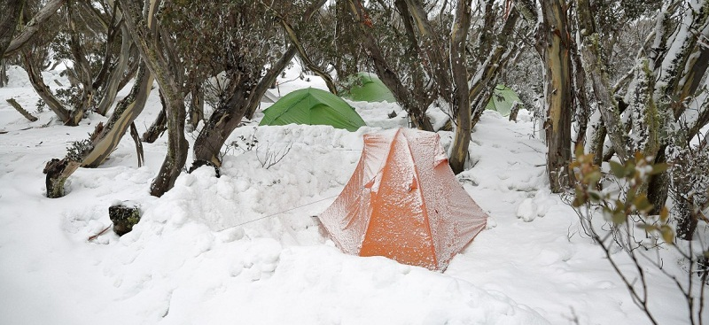 Keep Warm When Camping in Winter
