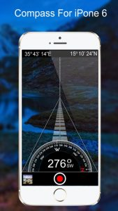 Compass for iPhone 6
