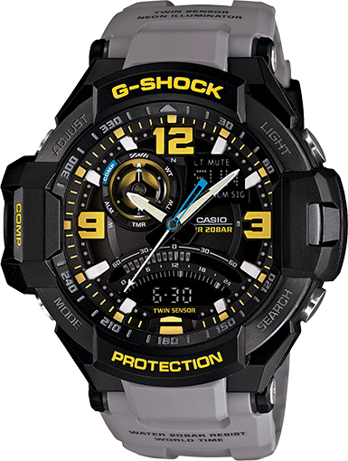 Casio G-Shock GA-1000-8A Aviation Review