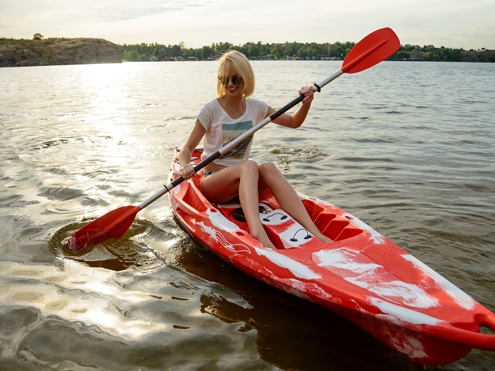 Sit-On-Top Style Kayak for Beginners
