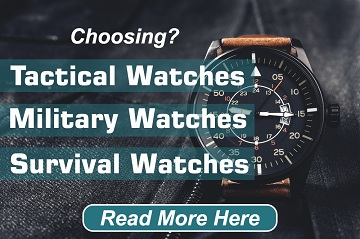 Best Tactical Watch for Military