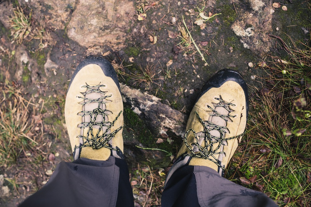 Hiking Shoes Tread